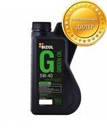 Синтетическое моторное масло BIZOL Green Oil 5W-40 1л