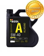 Синтетическое моторное масло BIZOL Allround 5W-40 4л