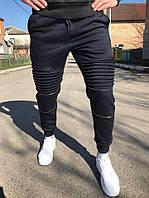 Молодежные спортивные штаны, темно-синие