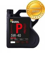 Синтетическое моторное масло BIZOL Protect 5W-40 4л