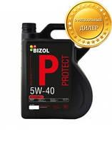 Синтетическое моторное масло BIZOL Protect 5W-40 5л