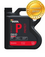 Синтетическое моторное масло BIZOL Protect 0W-40 4л