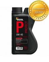 Синтетическое моторное масло BIZOL Protect 0W-40 1л