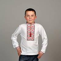 Футболка вышиванка с длинным рукавом для мальчика
