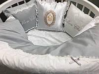 Набор в детскую кроватку Mon cheri (6 предметов), фото 1