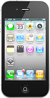 """Точная копия Apple iPhone 4 (4S). Металлический корпус! Емкостной дисплей 3.5"""", Wi-Fi, 4GB, 1 SIM. Черный, фото 1"""