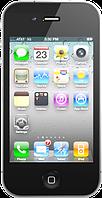 """Точная копия Apple iPhone 4 (4S). Металлический корпус! Емкостной дисплей 3.5"""", Wi-Fi, 4GB, 1 SIM. Черный"""