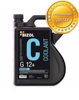 Антифриз концентрат красный BIZOL Coolant G12+ 5л