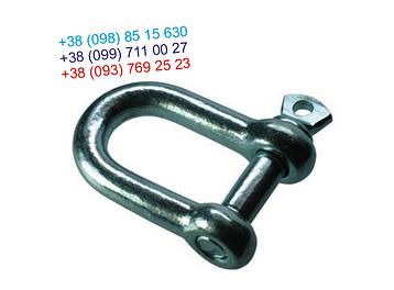 Скоба такелажная прямая 8 мм, фото 2