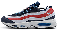 Мужские кроссовки Nike Air Max 95 City QS (Найк Аир Макс 95) синие