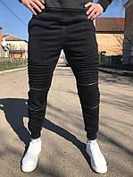 Мужские штаны карго (черные)