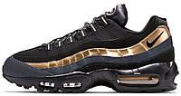 Мужские кроссовки Nike Air Max 95 (Найк Аир Макс 95) черные