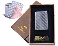 Спиральная USB зажигалка №4702-3, модный и стильный аксессуар курильщика, работает в любую погоду, подарочная