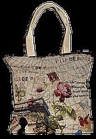 """Женская пляжная сумка из ткани """"Цветок"""" QQF-880003"""
