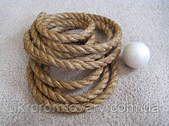 Веревка сизалевая д 14 мм для когтеток