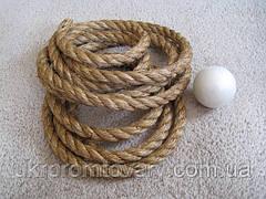 Мотузка сизалева д 22 мм для когтеток
