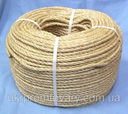 Веревка сизалевая д 50 мм для когтеток, фото 2