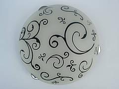 Светильник потолочный круглый накладной Восток диаметр 25 см одно ламповый