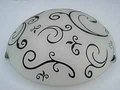 Светильник потолочный круглый накладной Восток диаметр 30 см двух ламповый