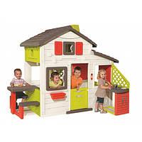 Домик детский игровой Friends House Smoby - Франция - с кухней и подачей воды