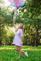 """Легкое летнее платье """"Миру-Мир"""" фиолетовое pl.020.57"""