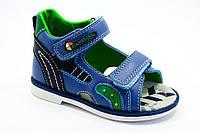 Детская обувь оптом. Босоножки на мальчиков оптом от фирмы Jong Golf A516-2 (8 пар, 21-26)