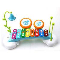 Игрушка Huile Toys Ксилофон Радуга 909