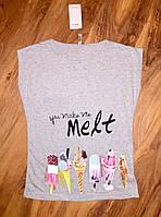 Женская футболка мята