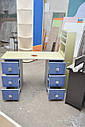 Профессиональный маникюрный стол с УФ-лампой , вытяжкой и подсветкой., фото 4