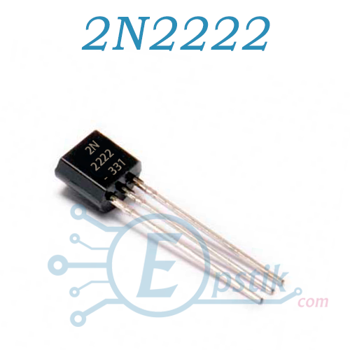 2N2222 (KSP2222ATA), Транзистор биполярный, NPN TO-92