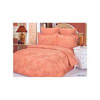 Комплект жаккардового постельного белья Le vele Bennu somon, фото 1