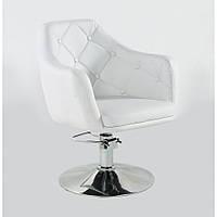 Кресло парикмахерское HC-831H белое