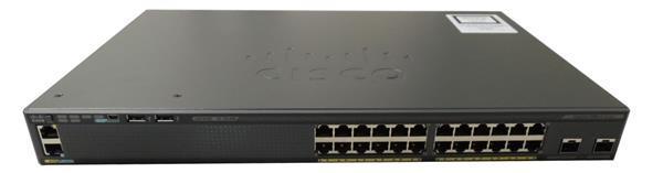 Коммутатор Cisco Catalyst 2960-X 24 GigE, 2 x 1G SFP, LAN Lite (WS-C2960X-24TS-LL)