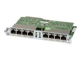 Модуль Cisco Eight port 10/100/1000 Ethernet switch int. card (EHWIC-D-8ESG=)