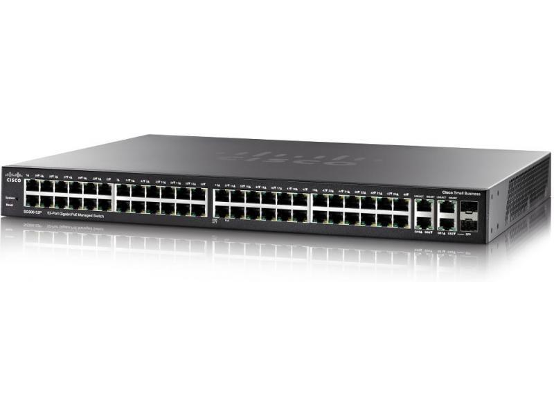 Коммутатор Cisco SB SG300-52P 52-port Gigabit PoE Managed Switch (SG300-52P-K9-EU)