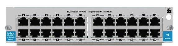 Модуль HP vl 24-port 10/100-TX  Module (J8765B)