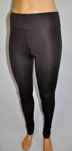 Однотонные чёрные лосины , фото 1