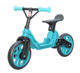 Мотоцикл 2-х колёсный Байк беговел голубой