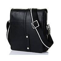 Кожаная мужская сумка через плечо Luxon