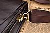 Мужская сумка через плечо Polo Videng+часы в Подарок, фото 4
