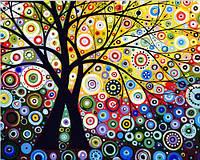"""Раскраска по цифрам """"Дерево гармонии""""  40 х 50 см"""