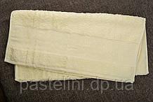 Рушник махра-бамбук 100x150 bamboo кремове