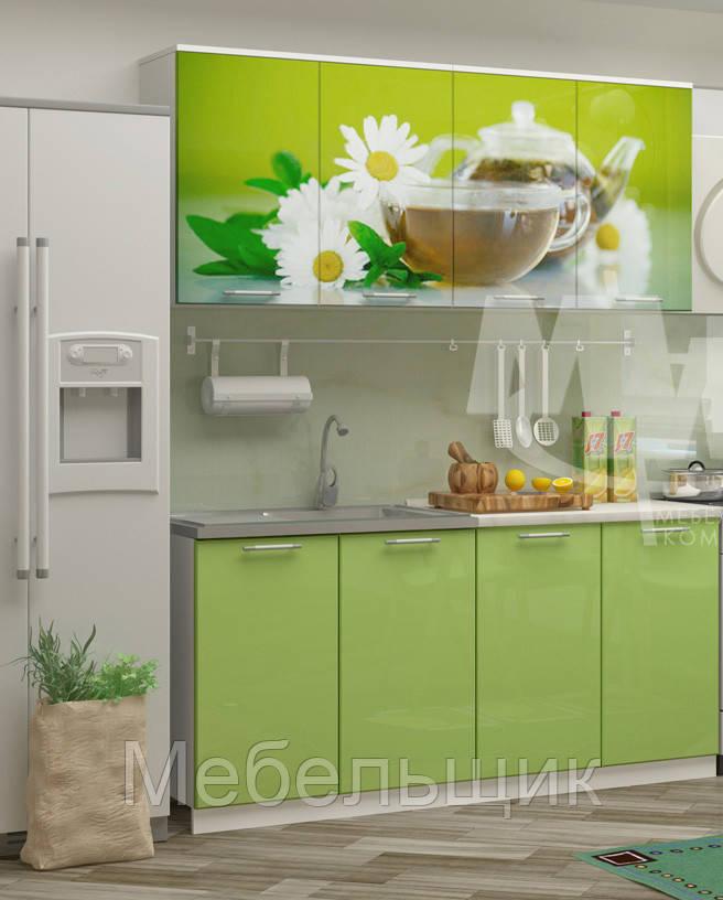Кухни зеленый чай