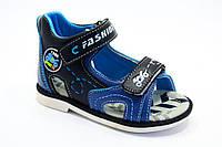 Детская обувь оптом. Босоножки на мальчиков оптом от фирмы Jong Golf A520-1 (8 пар, 21-26)