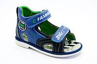 Детская обувь оптом. Босоножки на мальчиков оптом от фирмы Jong Golf A520-2 (8 пар, 21-26)