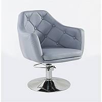 Кресло парикмахерское HC-831H серое