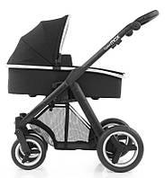 Детская универсальная коляска 2 в 1 Babystyle Oyster Max 2017 (шасси на выбор / люлька Black)