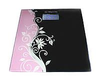 Весы напольные Flowers, электронные, стеклянные, от 0-180 кг