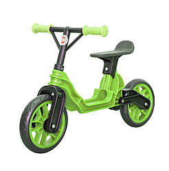 Мотоцикл 2-х колёсный Байк беговел зеленый