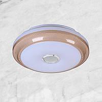 Светодиодная потолочная люстра (62-HS004 LED 18+18W 400мм)